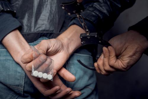 arrested man because of drug possession